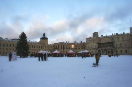 плац Гатчинского дворца