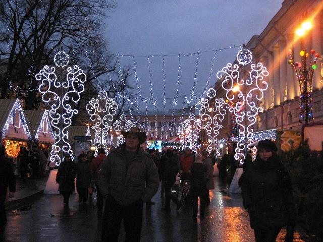 рождественская ярмарка Петербург