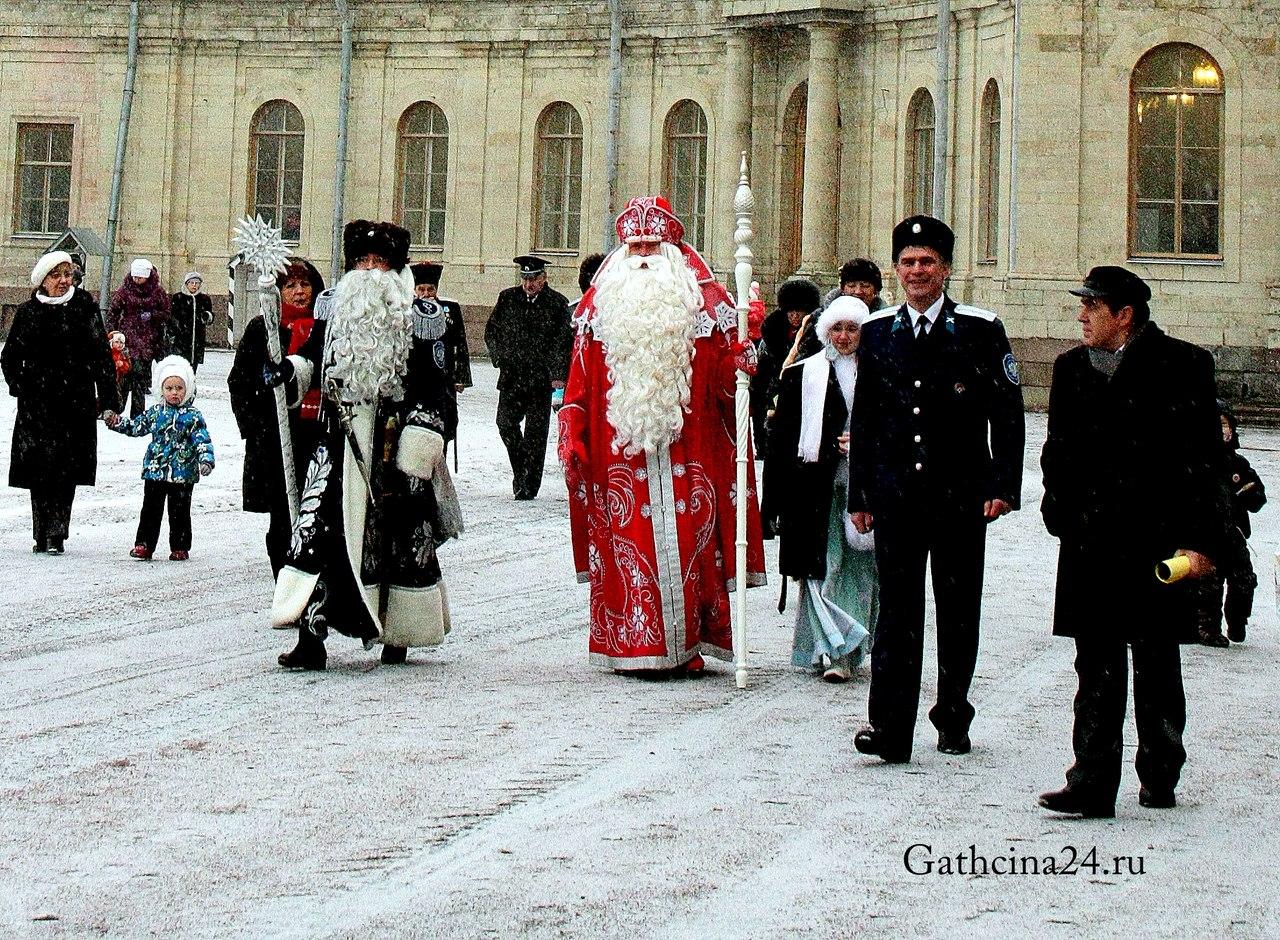 Дед Мороз из Устюга в Гатчине