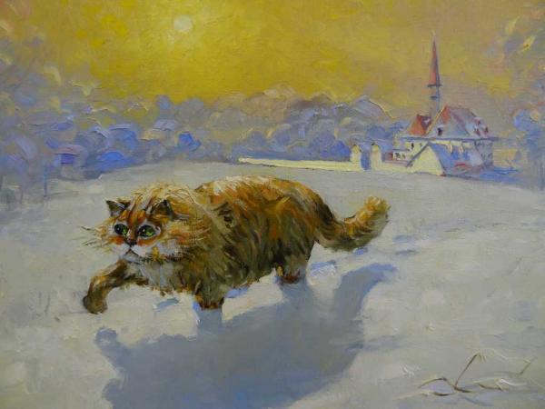 художница Татьяна Шадурская
