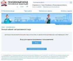 Пенсионный фонд гатчина личный кабинет официальный сайт как рассчитать пенсию 1956 года рождения женщине